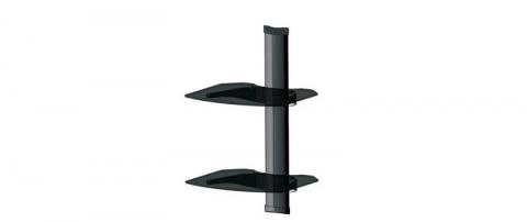 On Wall AV Component Shelf (Dual Shelf)
